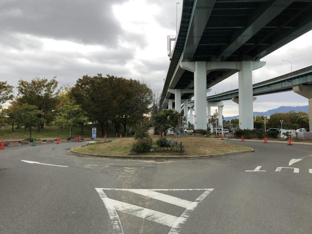 芦屋市総合公園北駐車場