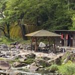 湯原温泉砂湯で露天風呂を満喫(口コミ)